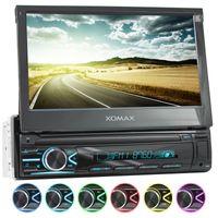 XOMAX XM-V746 1DIN Autoradio mit SD, USB und BLUETOOTH