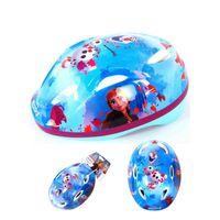 Skate Helm blau//rosa Größe 51-55 cm Disney Frozen Fahrrad