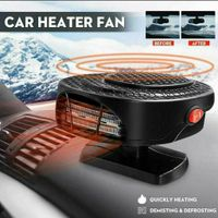Universal Demister Auto Luftheizung Lüfter Heizung Defroster 12V Heiß Warm