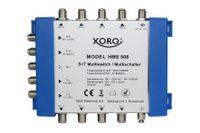 XORO HMS 508 Hochwertiger Multischalter für die Verteilung von DVB-S/S2 und DVB-T/T2 für bis zu 8 Teilnehmer