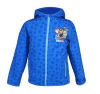 Paw Patrol Softshelljacke Kinder Regen Wind Jacke Windbreaker Regenjacke blau, Größe:116