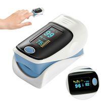 Sauerstoffmessgerät Finger Pulsoxymeter Puls Oximeter Blut Monitor Pulsoximeter