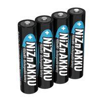 ANSMANN Micro AAA Akku Nickel-Zink 900mWh / 1,6V Akkubatterie 4er Pack