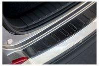 Edelstahl Ladekantenschutz Anthrazit für Hyundai Tucson 2 5 J.