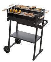Countryside®  Let's BBQ Grill, 2 Grillroste, Grillhöhe einstellbar, Grillfläche je 57,5x17 cm