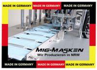 Deutsche Medizinische OP Masken nach EN 14683 + AC 2019 BFE 98% Typ II  GERMANY (MIG-Masken Deutschland) 1x50