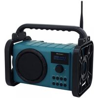 Soundmaster DAB80 Baustellenradio blau/schwarz