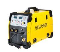 WELDINGER MEW 250SYNalu 250 A MIG/MAG Schweißgerät für Aluminium Brenner MB 250