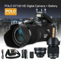 3.0'' Digitalkamera Spiegelreflexkamera 1080P 33MP 24X Zoom Objektiv Camcorder Kamera Tragbar