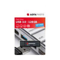 AgfaPhoto USB Stick 3.0, 128GB, Farbe: Schwarz