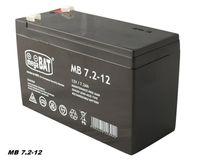 MegaBAT AGM USV Batterie MB-7.2-12 VRLA 12V 7,2Ah Notstromversorgung  wartungsfrei