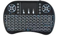 Tastatur Mini-Keyboard 2,4GHz 10 Meter QWERTY Beleuchtet 3 Farben 5605