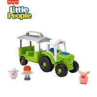 Fisher-Price Little People Traktor, Spielfiguren-Set, Spielset mit Musik