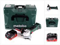 Metabo W 18 LTX 125 Quick Akku Winkelschleifer 18V 125mm ( 602174840 ) + MetaLoc + 1x Akku 5,5 Ah - ohne Ladegerät