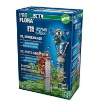 JBL ProFlora m502 CO2 Anlage, Pflanzendüngeanlage mit Mehrwegflasche und Nachtabschaltung