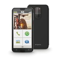 emporia Smart 5 Smartphone, Farbe:Schwarz