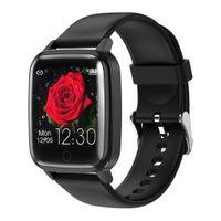Smart Watch Puls Sauerstoff Blutdruck Sport Fitness Tracker Schwarz 15x6x4cm Andere Smartwatch