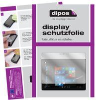 2x Microsoft Surface Go 2 Schutzfolie klar Displayschutzfolie Folie Display