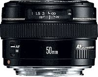 Canon EF 50mm f/1.4 USM, Standardobjektiv, 7/6, Canon EF