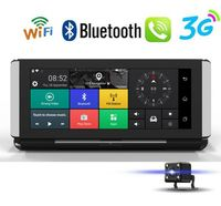 7'' Auto DVR Dashboard Kamera Recorder 3G Wifi Android GPS Navigation Autokamera