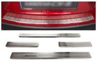 Edelstahl Ladekantenschutz und Einstiegsleisten für Mazda CX-5 Bj. 2012-02/2017