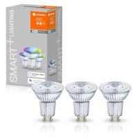 LEDVANCE SMART+ LED PAR16 50 (45°) BOX K DIM RGBW WiFi Matt GU10 Spot 3er Pack