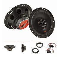 Lautsprecher Set kompatibel mit Audi A3 8P 8PA A4 B7 Tür vorne 165mm 2-Wege Koax System JBL Stage2 624