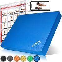 POWRX Balance Pad Pro inkl. Workout Gleichgewichts-Balance-Trainer Tolle Farben Farbe: Dunkelblau
