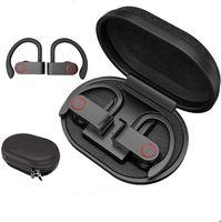 TWS Bluetooth Kopfhörer echte drahtlose Ohrhörer 8 Stunden Musik Bluetooth 5.0 drahtloser Kopfhörer Wasserdichter Sportkopfhörer