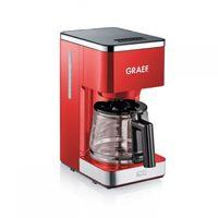 GRAEF FK 403  Kaffeeautomat rot, Farbe:Rot