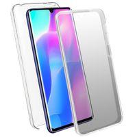 Schutzhülle für Xiaomi Mi Note 10 Lite, Vorder- + Rückseite – Transparent