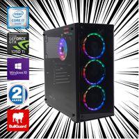 RGB Gamer PC Intel Core i7-6700K nvidia GeForce GTX 1050 Ti 32GB DDR4 RAM 1TB SSD 2TB HDD Win10Pro