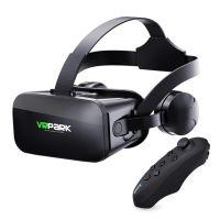 J20 Schwarz - VR Brille / VR Headset für alle 4,7 - 6,0 Smartphones, VR-Brille All-in-One-Maschine-J20 + C8