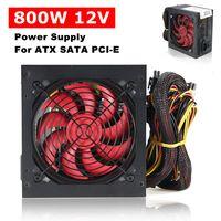 Neu 800 Watt PC Netzteil Power Supply ATX 12V Computer 120mm Lüfter leise SATA
