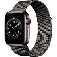 Apple Watch Series 6 GPS + Cell 40mm Grap. Steel Grap. Milanese