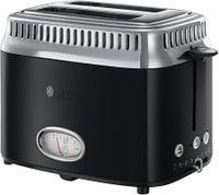 Russell Hobbs Toaster Retro, Farbe:Schwarz