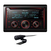 PIONEER FH-S820DAB 2 DIN Autoradio mit DAB Bluetooth Digitalradio USB AUX CD