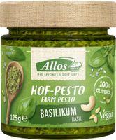 Allos Hof-Pesto Basilikum 125g