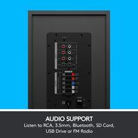 Logitech Z607 5.1 Surround Sound Speaker System mit Bluetooth (980-001316), Farbe:Schwarz