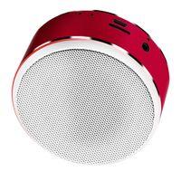Profi Bluetooth Lautsprecher Musikbox, Unterstützung für Android / IOS /Windows Systeme, micro usb Anschluss Farbe rot