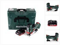 Metabo STA 18 LTX 100 Akku Stichsäge 18V ( 601002840 ) + 1x Akku 4,0Ah - ohne Ladegerät