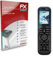 atFoliX FX-ActiFleX 3x Schutzfolie kompatibel mit Logitech Harmony 950 / Elite Folie