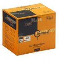 Intenso CD-R 700Mb 52x jewelcase (10), 700 MB, 52 x, CD-R