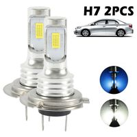 Selm 2X H7 LED-Lampen Superweißer Xenon-Scheinwerfer-Set Abblendlicht-Autoscheinwerfer