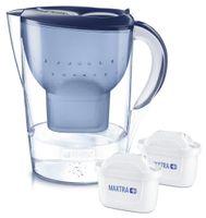 Brita Wasserfilter Marella XL Starterpack - inkl. 2 MAXTRA+ - blau