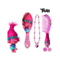 Trolls Beauty Set für Mädchen Bürste+Violetter Kamm