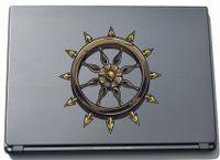 Laptopaufkleber Laptopskin Misc3-Okkult3 - Okkult geheimnissvolles Zeichen - 210 x 200 mm Aufkleber