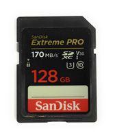 SANDISK SDXC Extreme Pro 128 GB 170 MB / s UHS-I V30 U3 C10