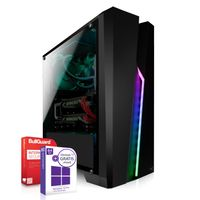 Basic Gamer Computer - AMD Ryzen 5 PRO 3350GE 4 x 3.9GHz - AMD RX Vega - 10Core - 16 GB DDR4 - 512GB SSD - Windows 10 Pro - Desktop PC