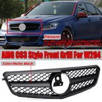 Kühlergrill Sport Frontgrill Gitter Amg Stil Grill Für Mercedes W204 C230 C280